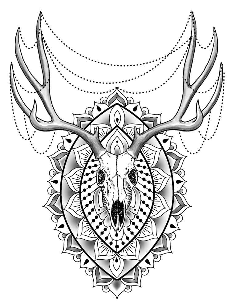 animal mandala coloring pages for adult free printable animal mandala coloring pages. Black Bedroom Furniture Sets. Home Design Ideas