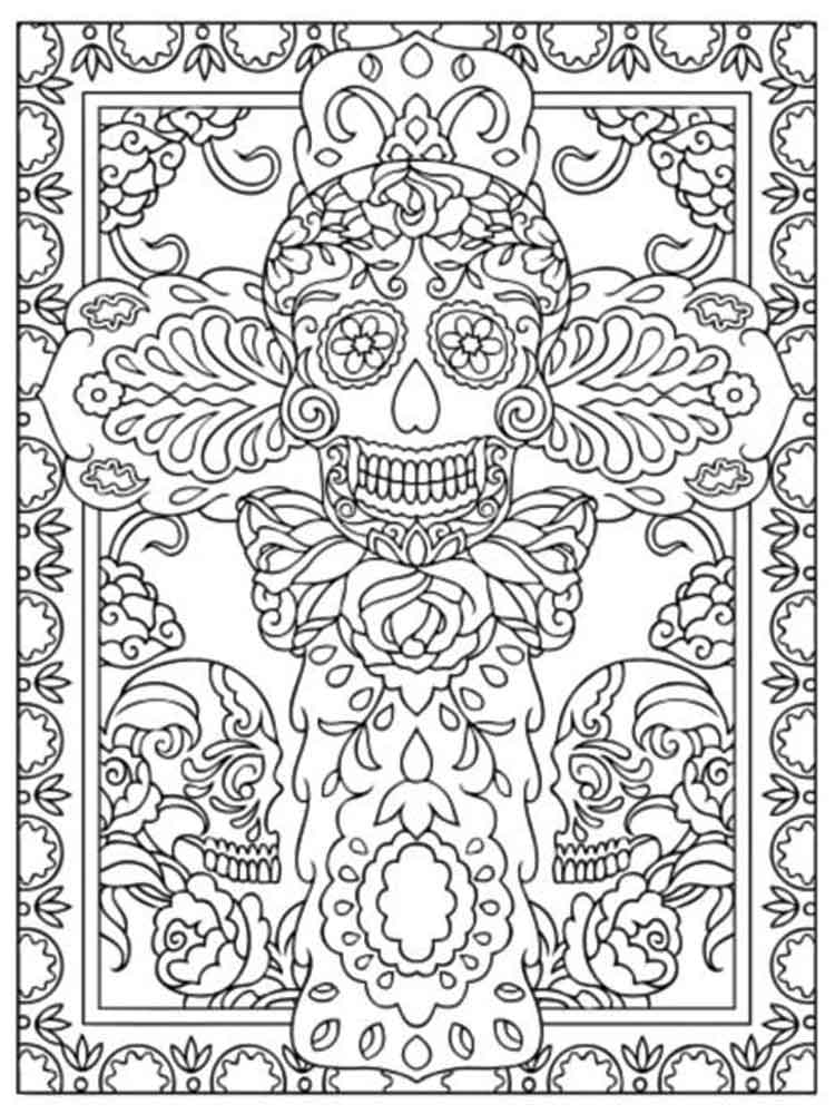 adult art therapy coloring pages 10