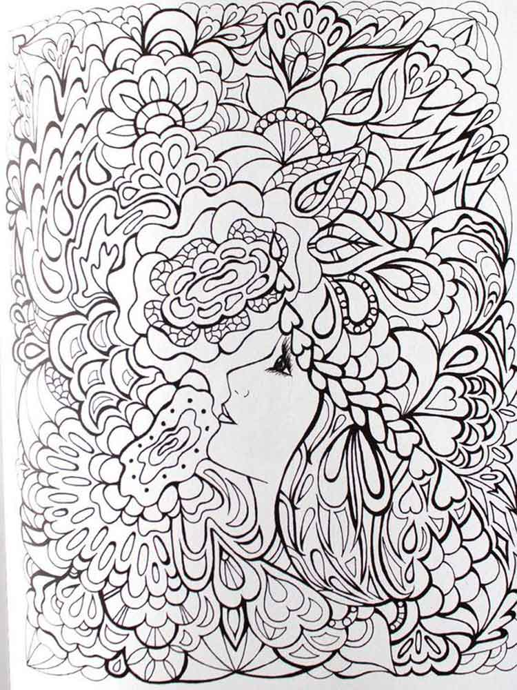 adult art therapy coloring pages 13 - Art Therapy Coloring Pages
