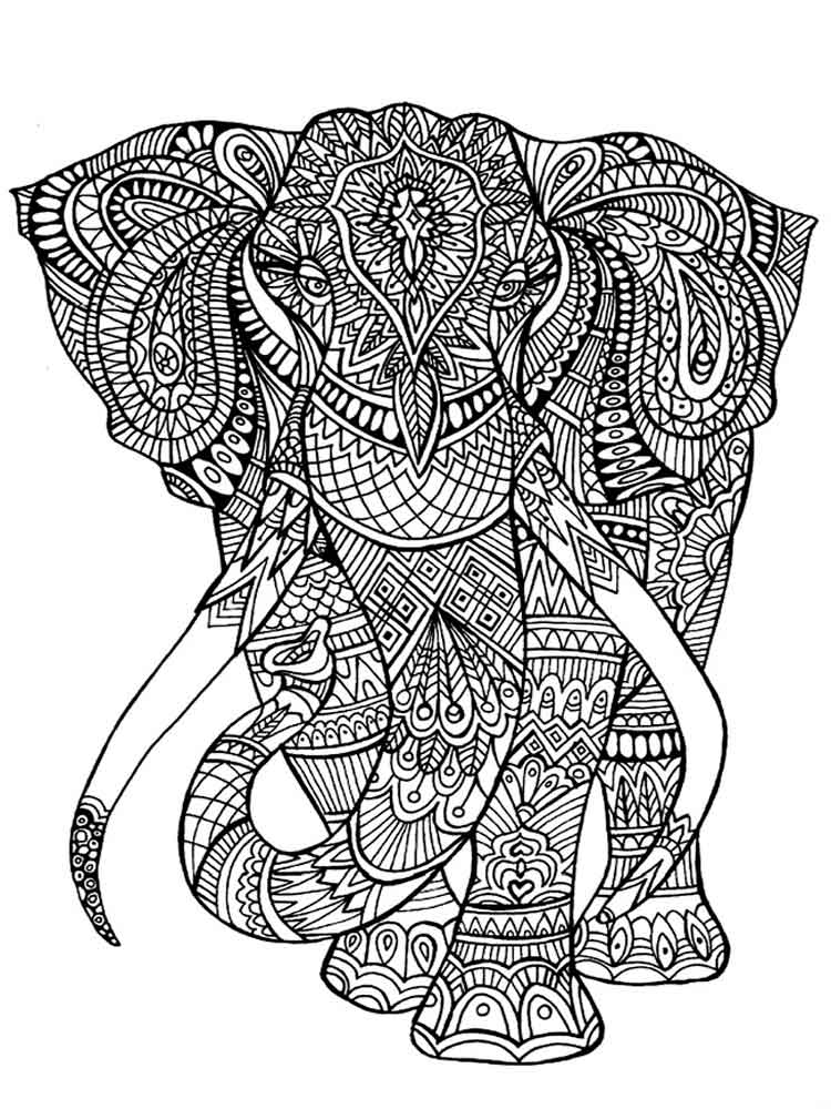 Art Therapy coloring pages for adults. Free Printable Art Therapy ...