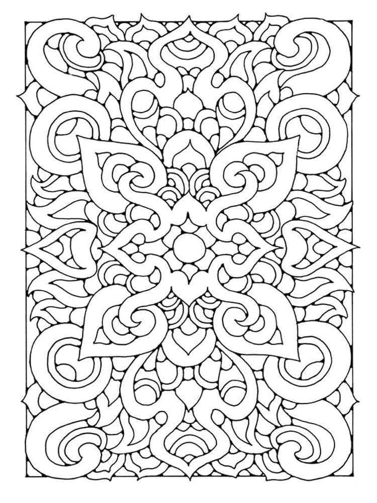 coloring pages adults printable - art therapy coloring pages for adults free printable art