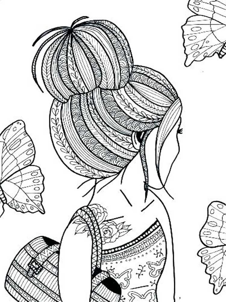 Free Coloring pages for Teens. Printable to Download ...