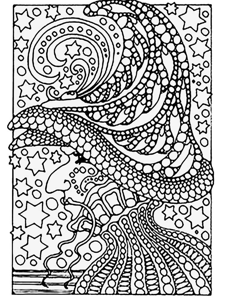 Free Complex coloring pages for Adults and Teens ...