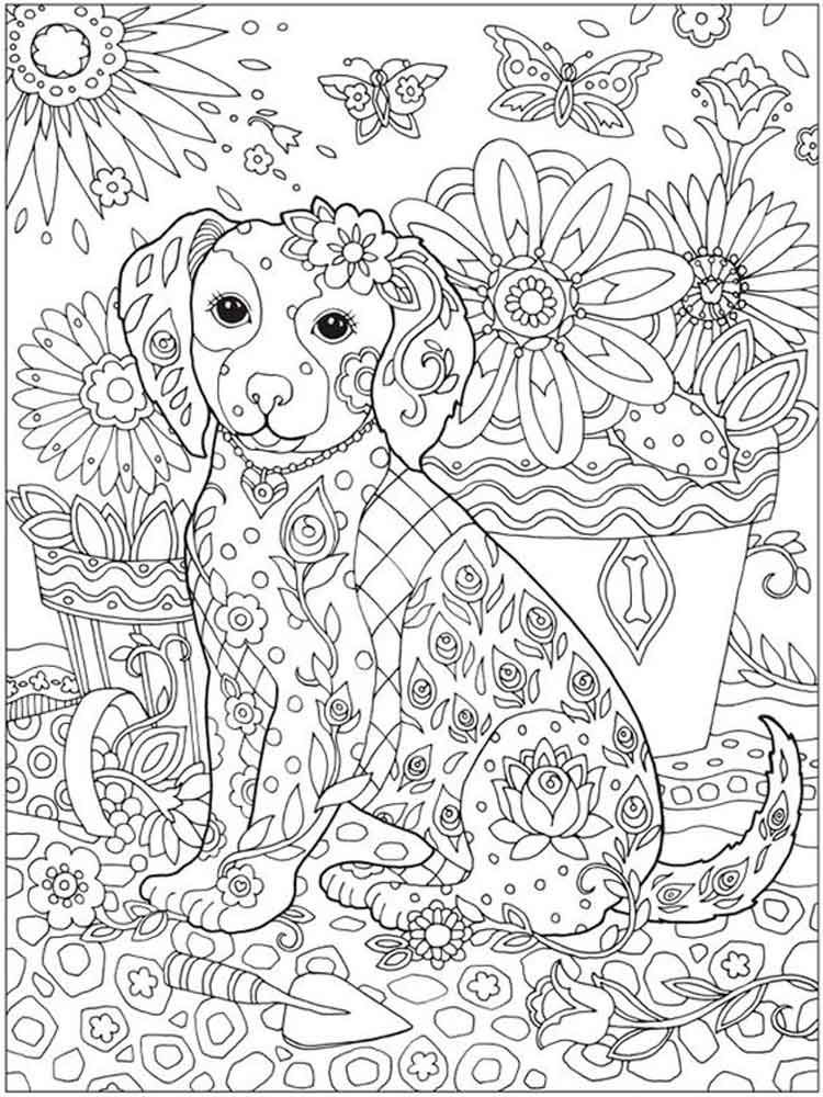Detailed coloring pages for adults Free Printable Detailed