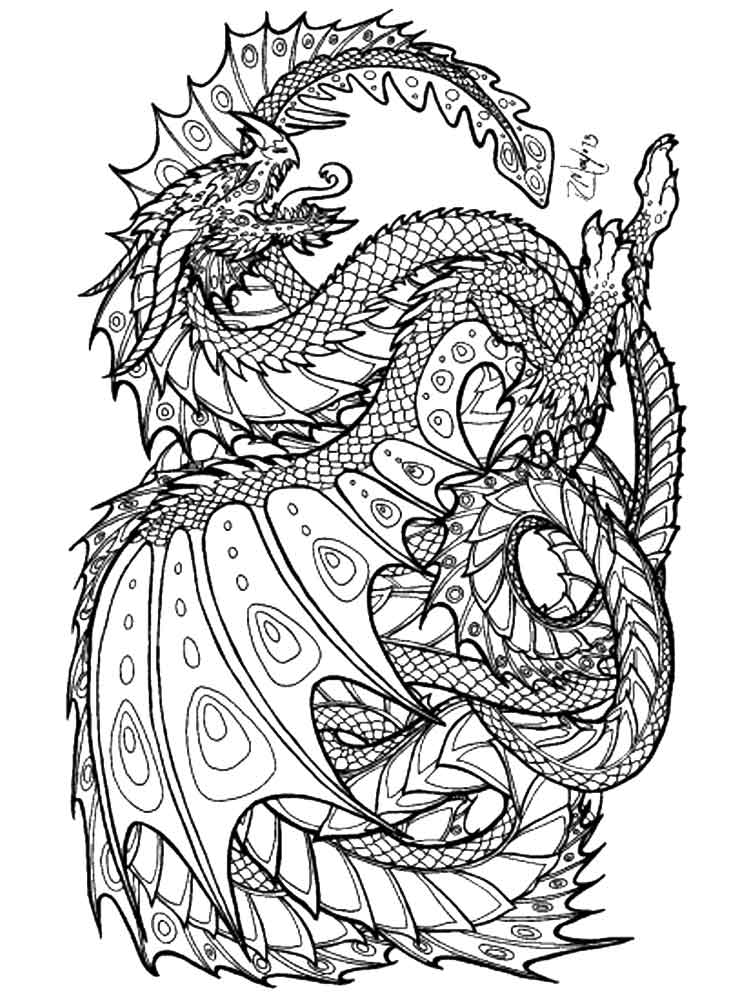 adult detailed coloring pages 11 - Detailed Coloring Pages