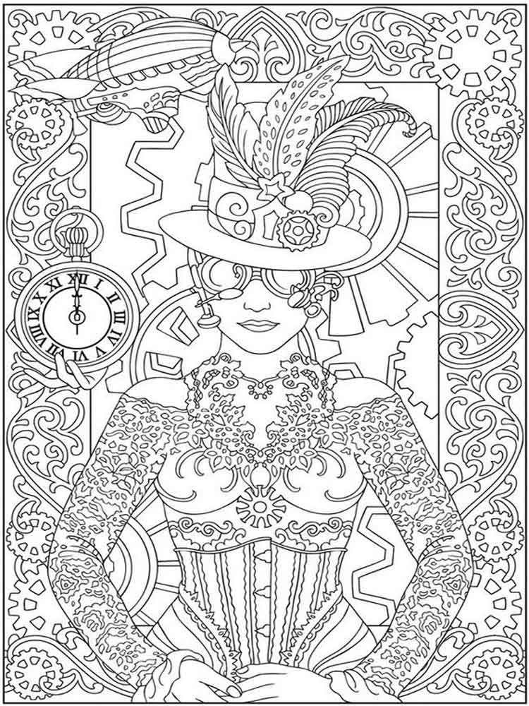 adult detailed coloring pages 13 - Detailed Coloring Pages