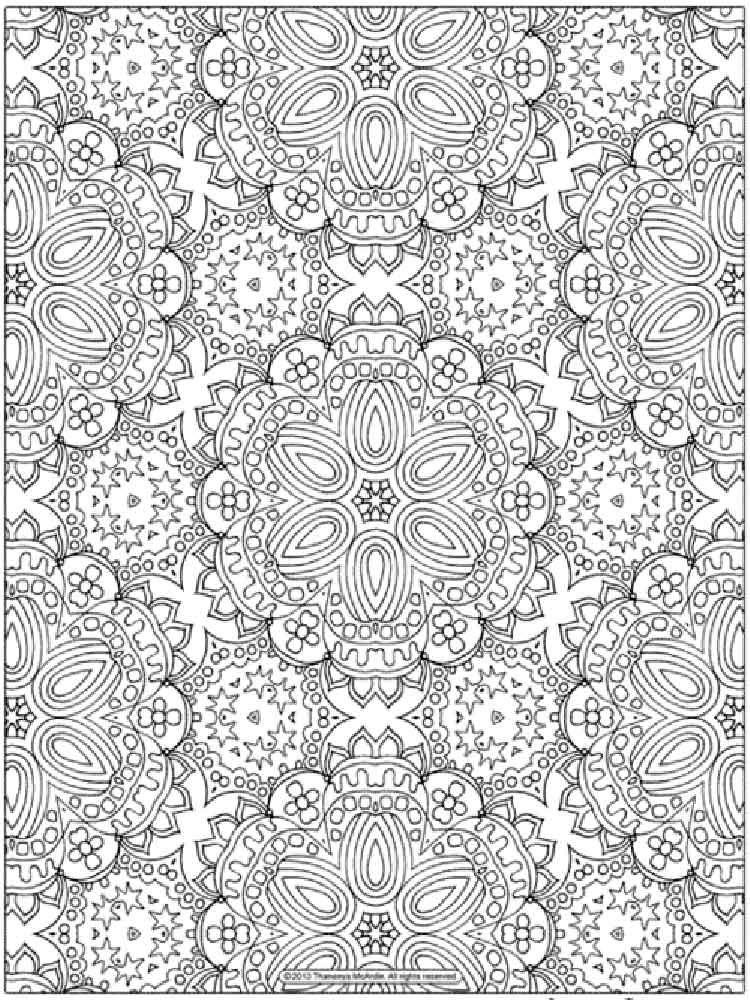 Detailed Coloring Pages For Adults Free Printable