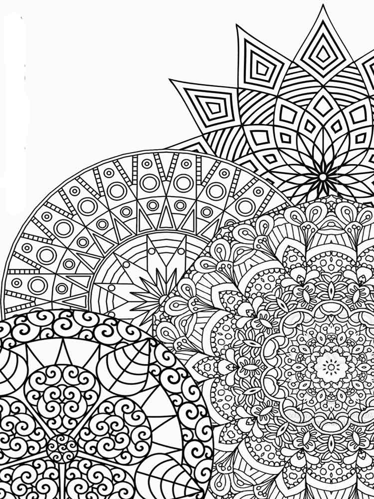 detailed online coloring pages | Detailed coloring pages for adults. Free Printable ...