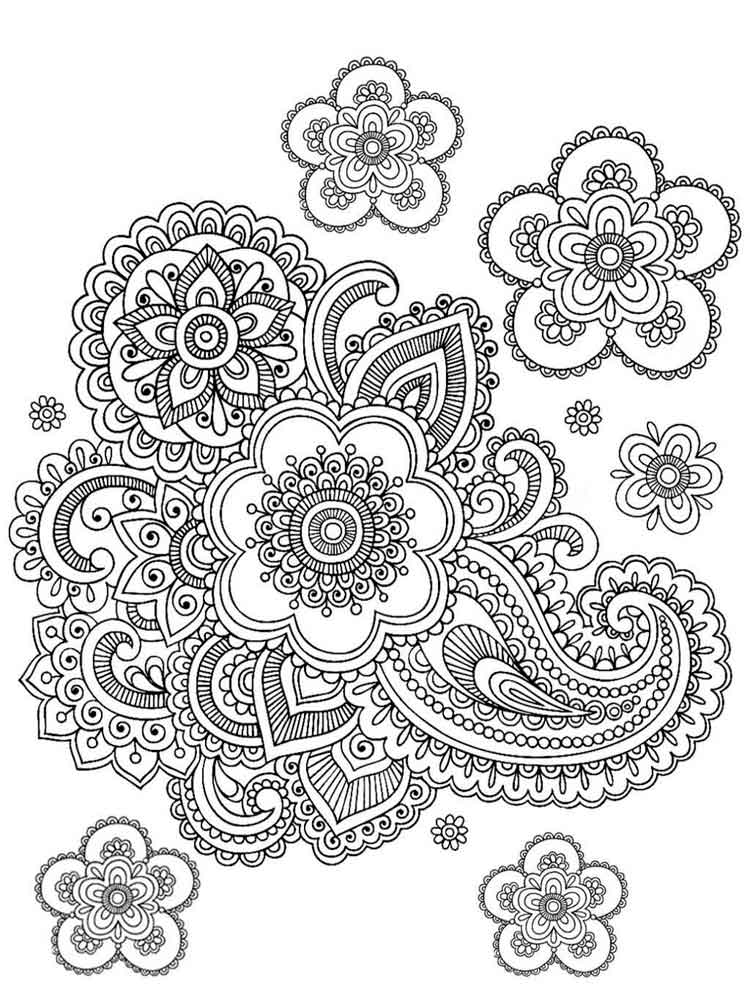 - Difficult Coloring Pages For Adults. Free Printable Difficult Coloring Pages .