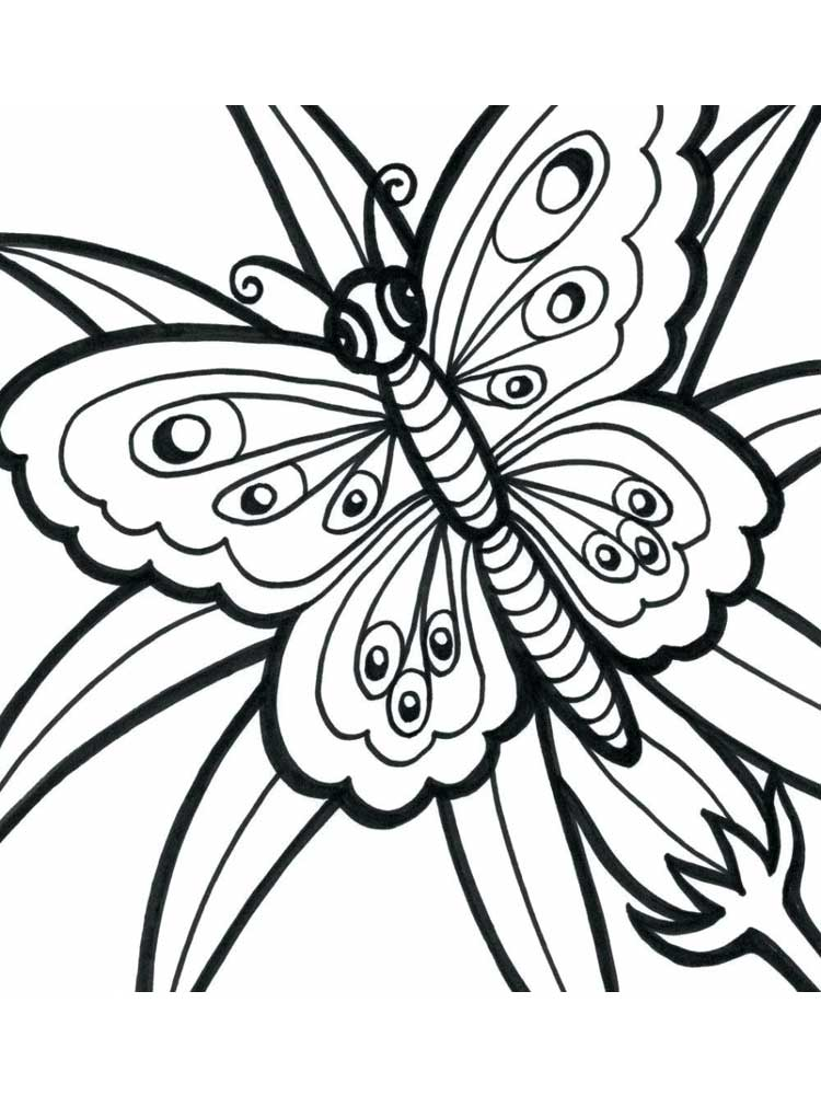 Free Easy Coloring Pages For Adults. Printable To Download Easy Coloring  Pages.