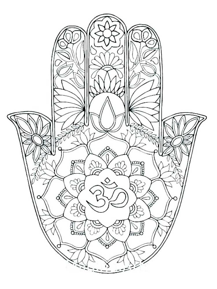 Free Easy coloring pages for Adults. Printable to Download ...