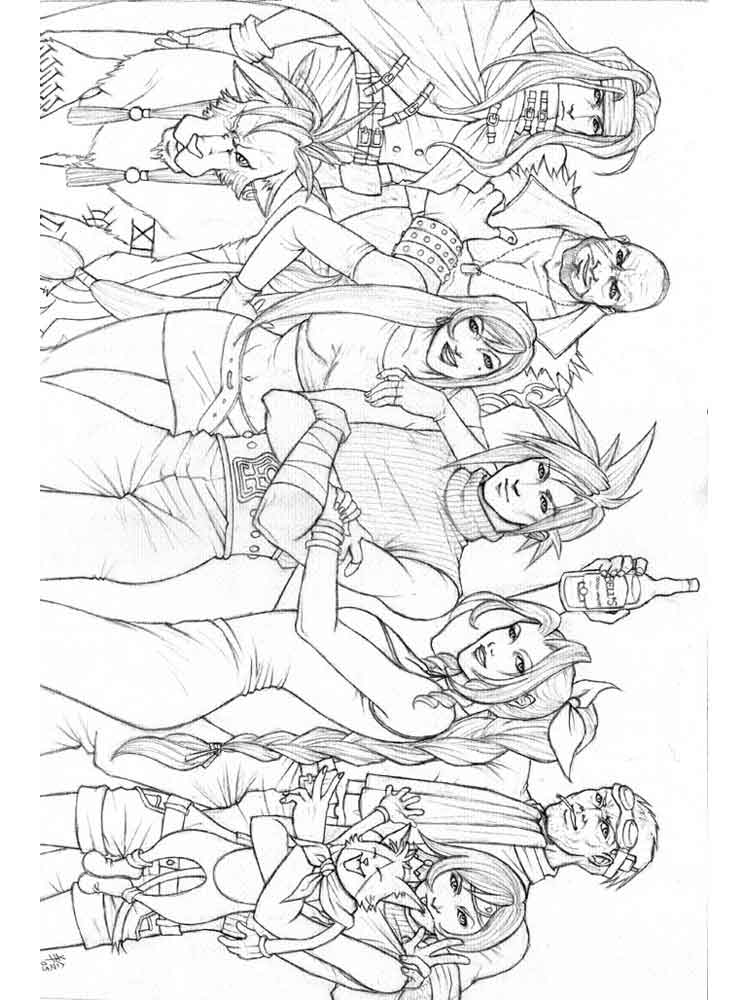 coloring pages fantasy adults - photo#42