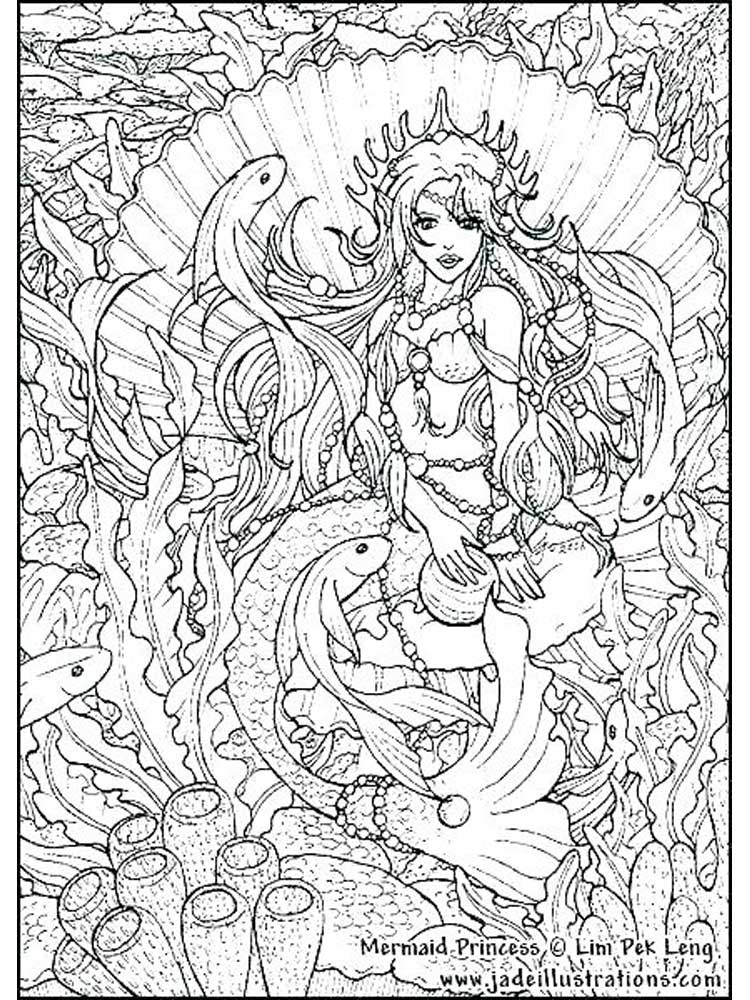 Free Hard coloring pages for Adults. Printable to Download ...