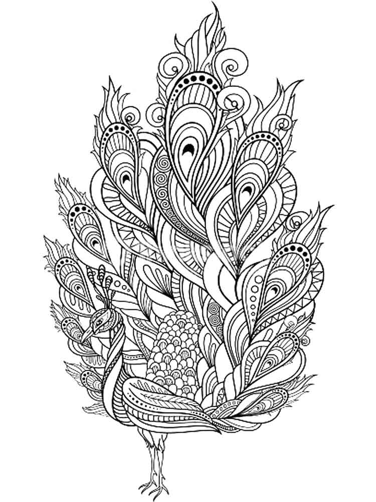 Intricate Coloring Pages For Adults Free Printable Intricate Coloring Pages