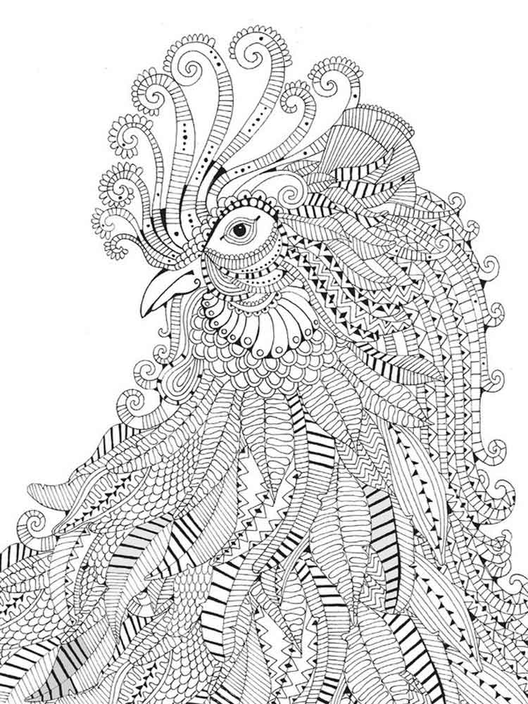 - Intricate Coloring Pages For Adults. Free Printable Intricate Coloring Pages .