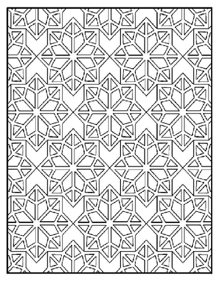 Mosaic Coloring Pages For Adults Free Printable Mosaic