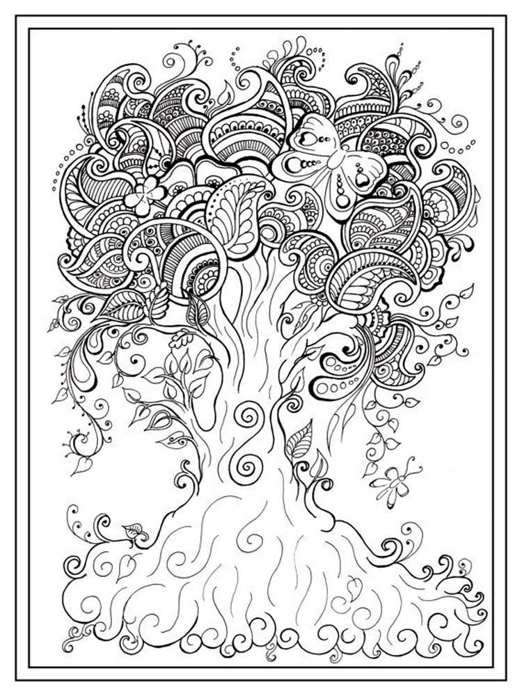 Free Mindfulness Coloring Pages For Adults Printable To Download Mindfulness Coloring Pages