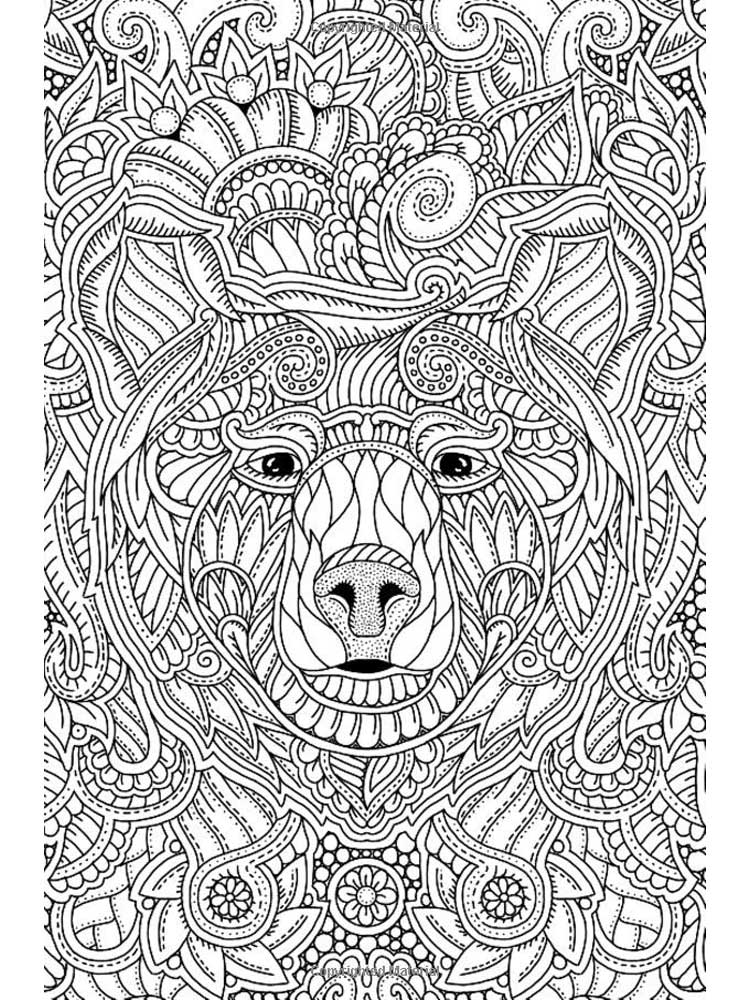 Free Mindfulness coloring pages for Adults. Printable to ...
