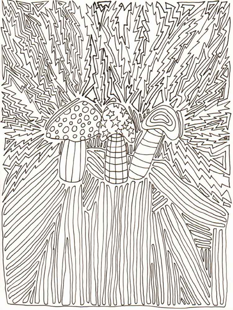 - Psychedelic Coloring Pages For Adults. Free Printable Psychedelic Coloring  Pages.