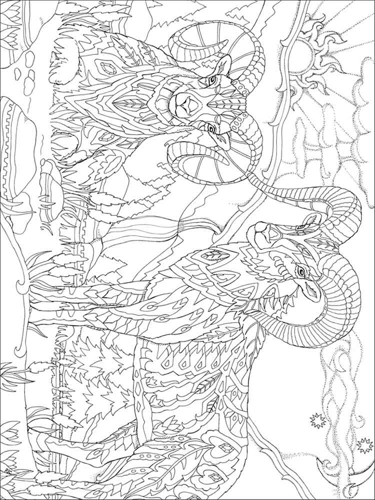 Psychedelic coloring pages for adults. Free Printable ...