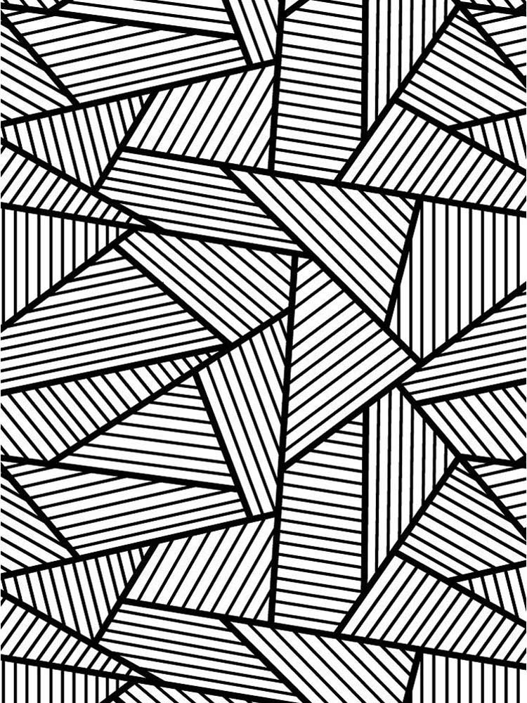 Free Pattern Coloring Pages For Adults. Printable To Download Pattern  Coloring Pages.