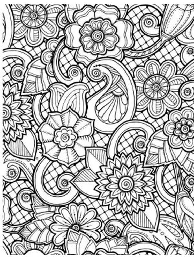 coloring for adults pages Pattern