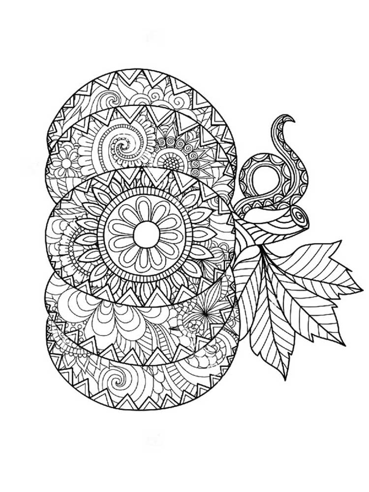 Free Pumpkin coloring pages for Adults. Printable to ...
