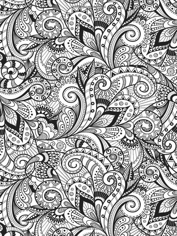 Stress Coloring Pages For Adults. Free Printable Stress Coloring Pages.