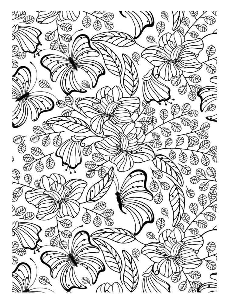 Therapy Coloring Pages For Adults. Free Printable Therapy Coloring Pages.
