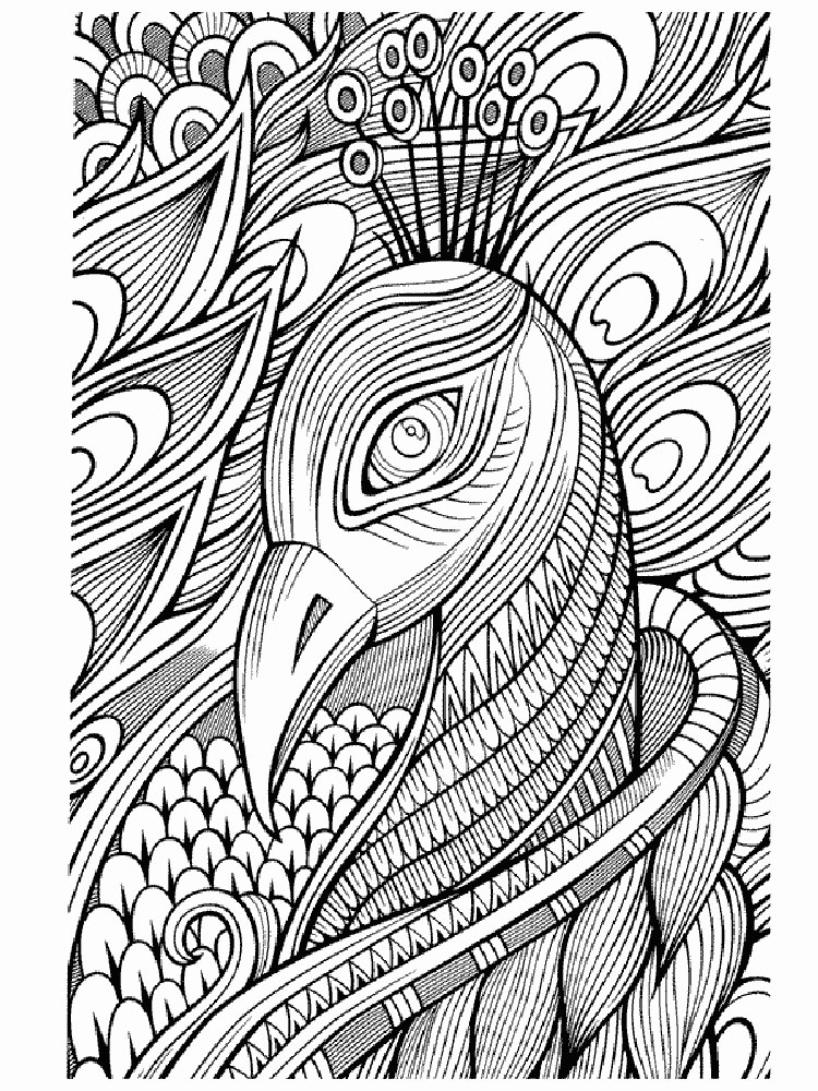 adult anti stress coloring pages 1 - Stress Coloring