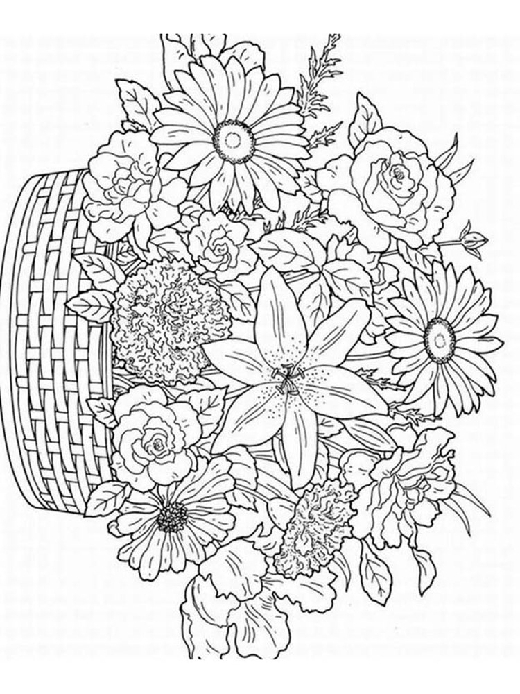 Coloring pages for adults difficult animals