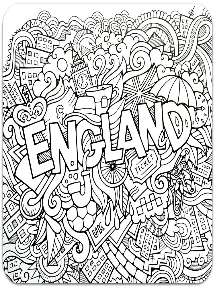 Anti-Stress coloring pages for adults. Free Printable Anti ...