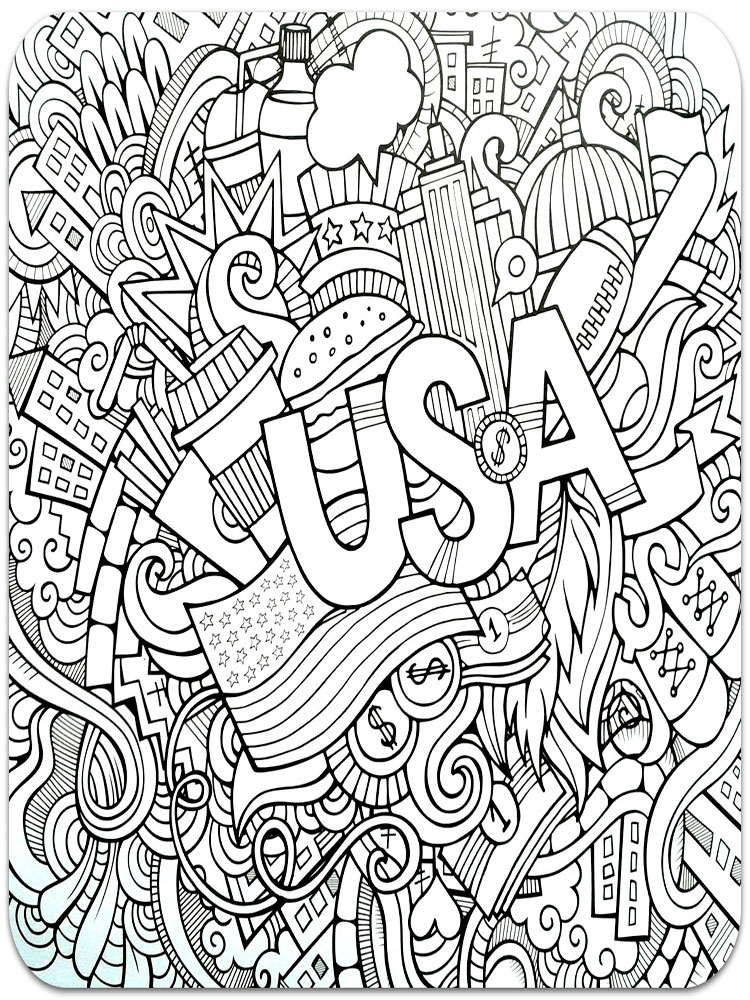 Free Printable Christmas Coloring Pages Difficult Free