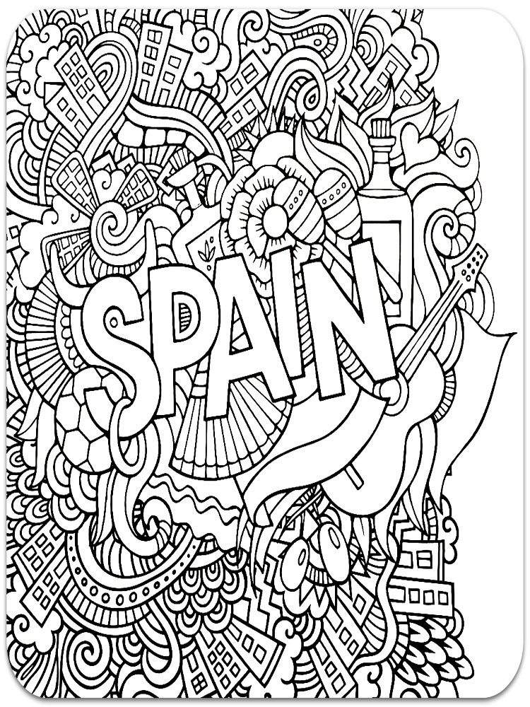 Anti Stress Coloring Pages For Adults Free Printable Anti
