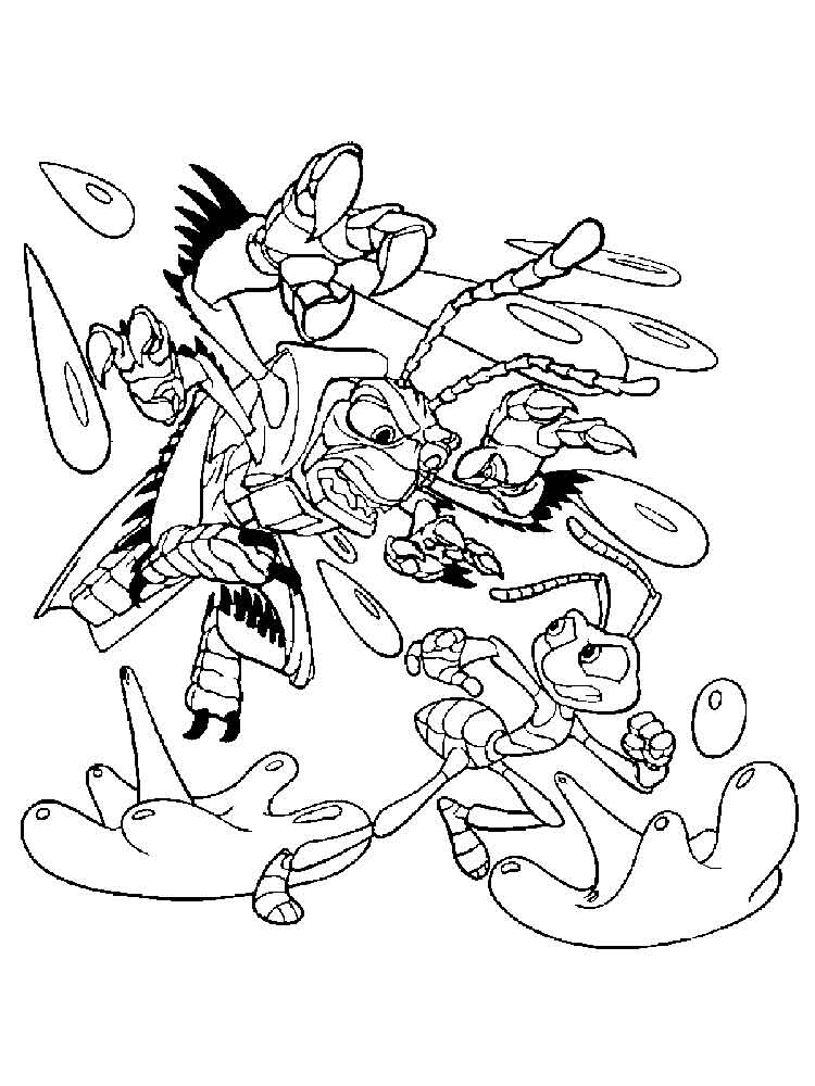 A Bug 39 s life coloring pages Download
