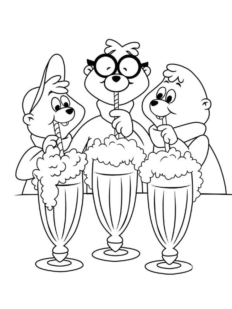 Alvin And The Chipmunks Coloring Pages Download And Print Alvin Alvin And The Chipmunks Coloring Pages
