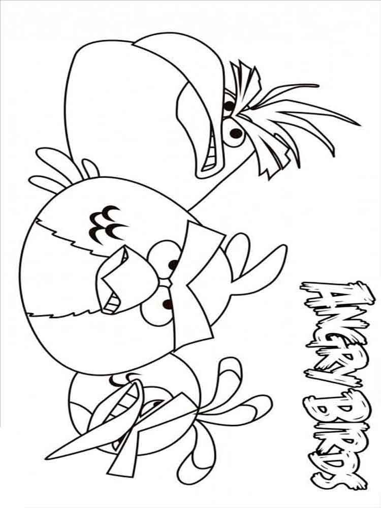 Angry Birds coloring pages Download and print Angry Birds
