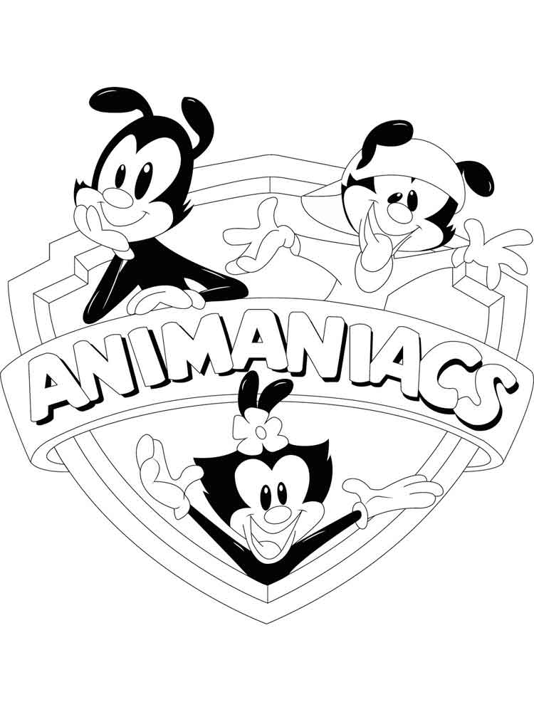 ... Animaniacs-coloring-pages-4 ...