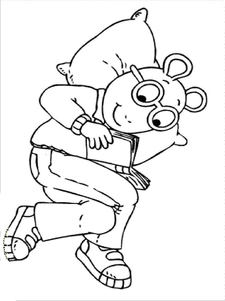 Arthur coloring pages Download