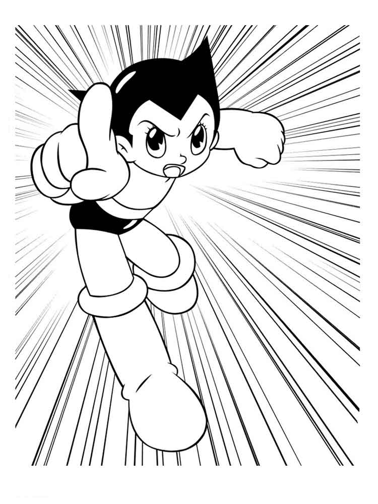 Astro Boy coloring pages Download