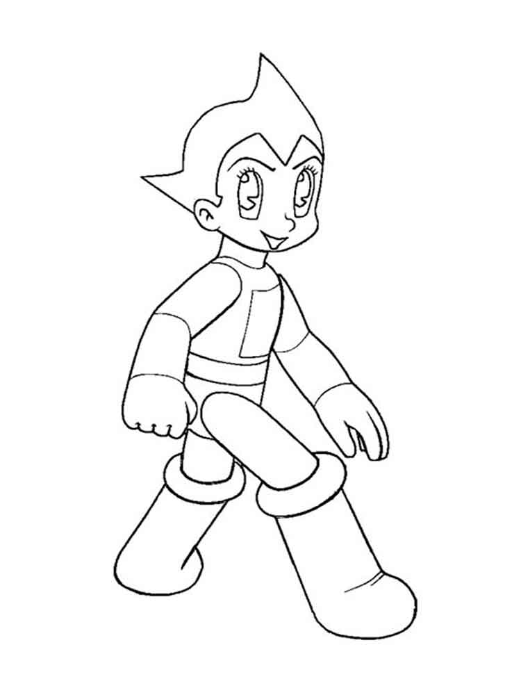 Astro Boy Coloring Pages Download And Print Astro Boy