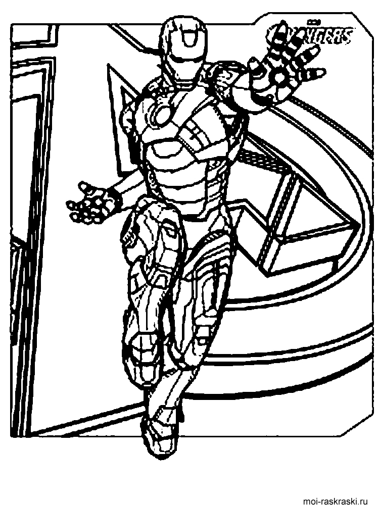 Free Avengers coloring pages. Download and print Avengers ...