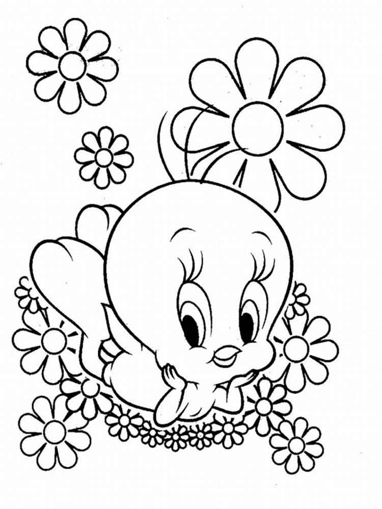 Baby Looney Tunes coloring pages Download and print Baby Looney