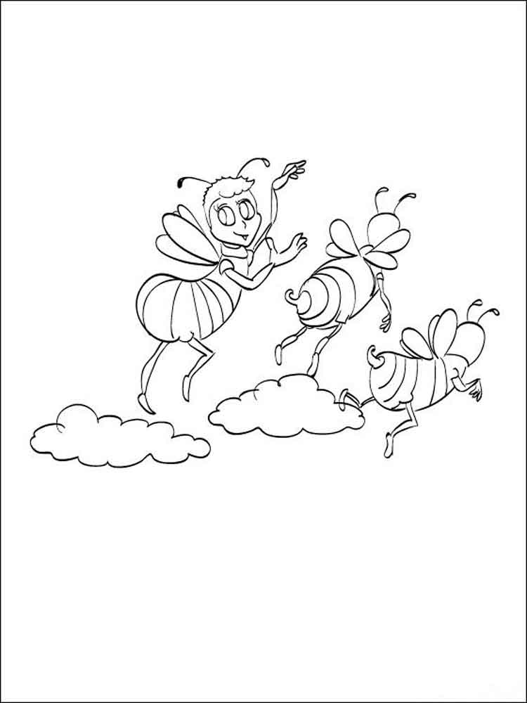 Bee Movie coloring pages Download and print Bee Movie