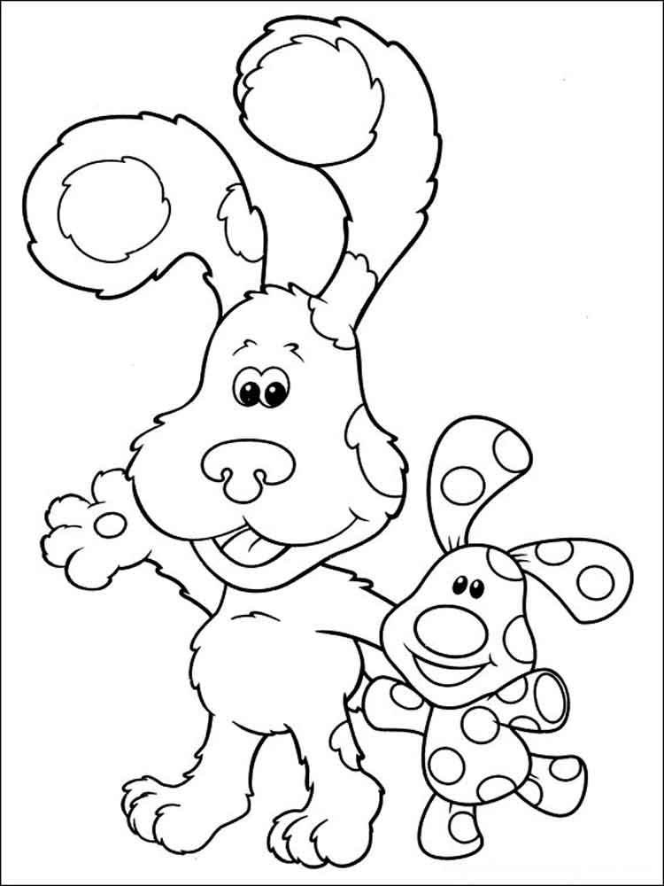 Blue 39 s Clues coloring pages Download