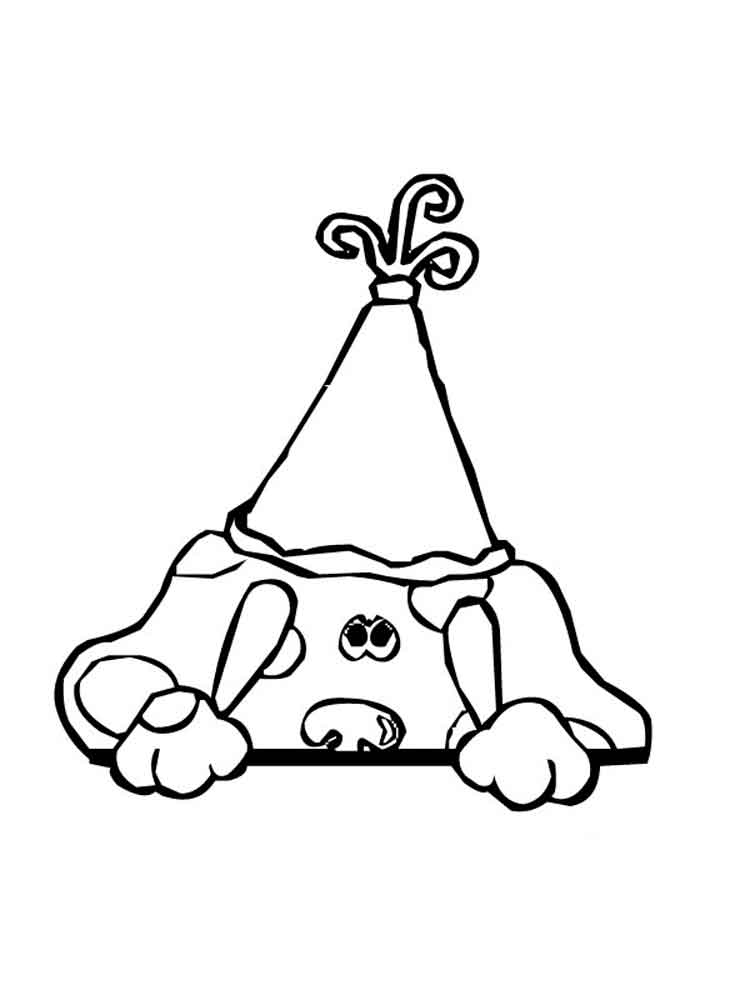 Blue's Clues coloring pages. Download and print Blue's ...