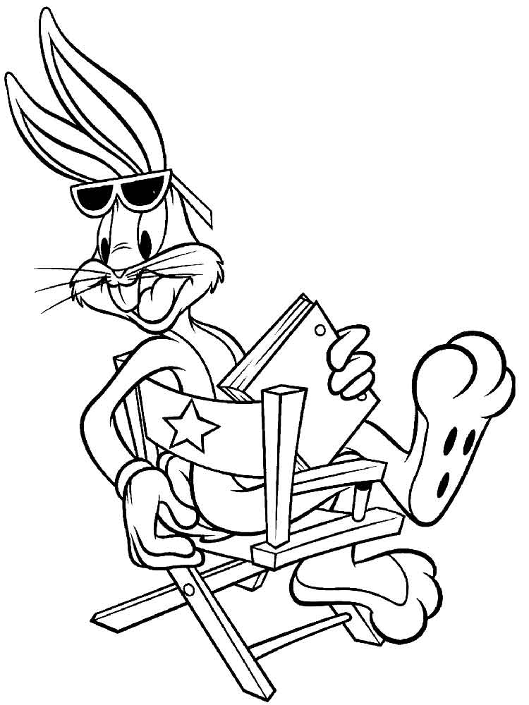 Bugs Bunny Coloring Pages Download And Print Bugs Bunny