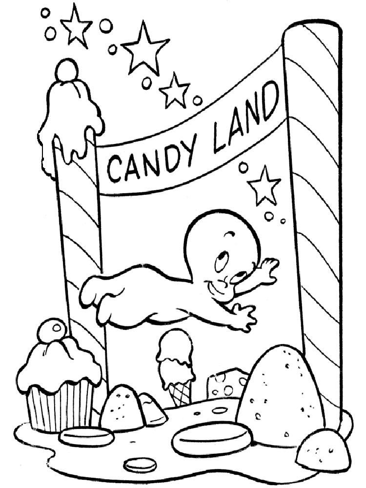 Casper coloring pages Download