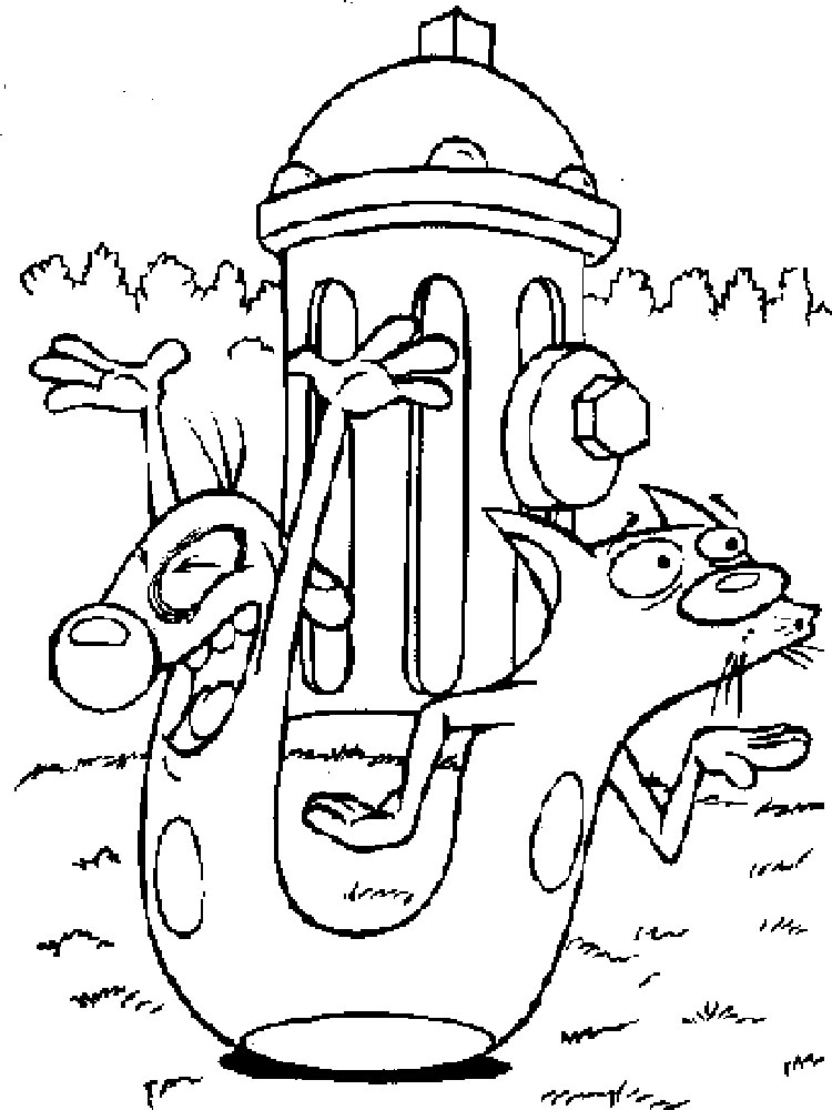 CatDog coloring pages Download and print CatDog coloring pages