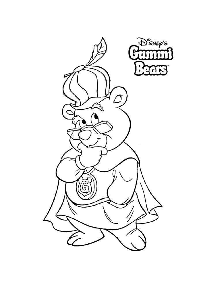 Gummi Bears coloring pages Download